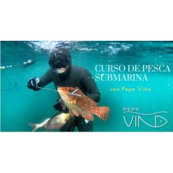 Curso Pesca Submarina PEPE VIÑA