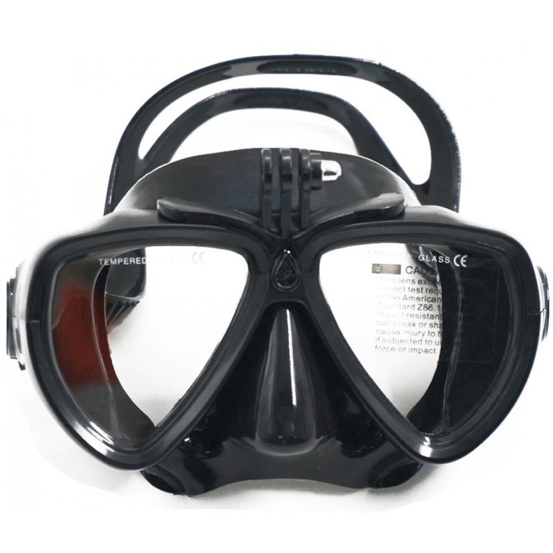 Mascara con soporte para cámara