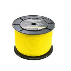Cabo de boya de polietileno color amarillo. Precio 0,40 metro