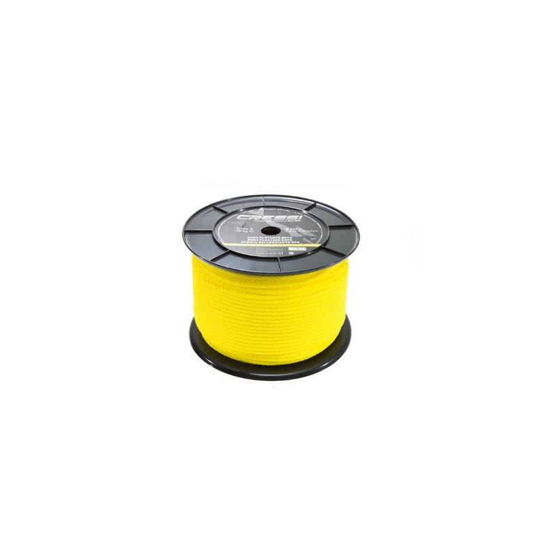 Cabo de boya de polietileno color amarillo